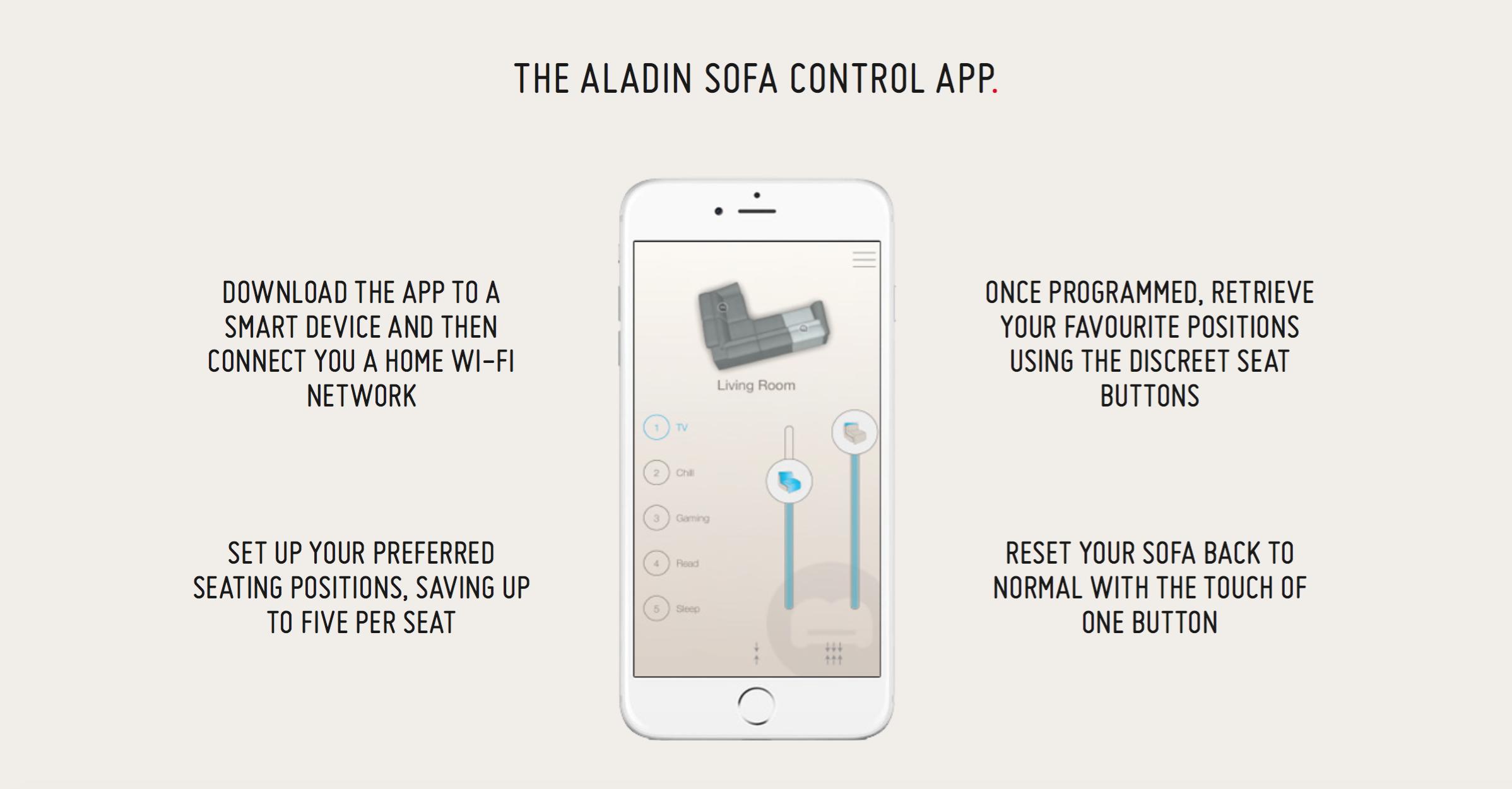 Rom Sofa Aladin app
