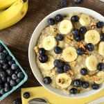 A healthy breakfast that you can make in the microwave