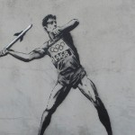 Banksy Goes Olympic Crazy