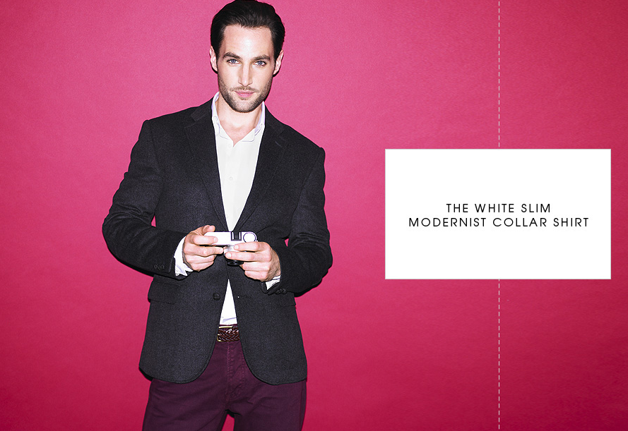Debenhams Guide to the perfect mens white shirt date night weddings interview work