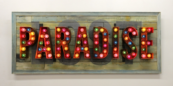 Chris Bracey Neon Exhibitiion Scream Gallery London