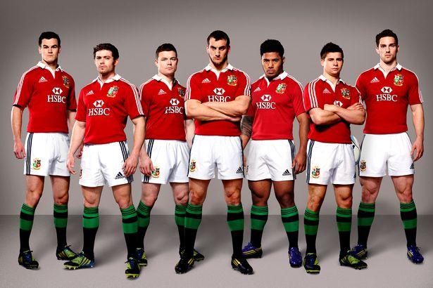 Official Lions Tour Squad