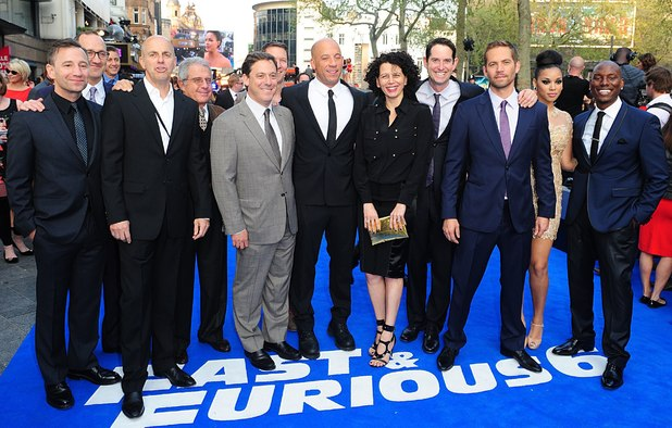 Fast and Furious 6 London