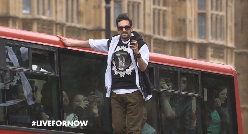 Dynamo takes part in the Pepsi Maz #Livefornow campaign