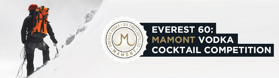 Mamont Vodka Cocktail Everest Competition