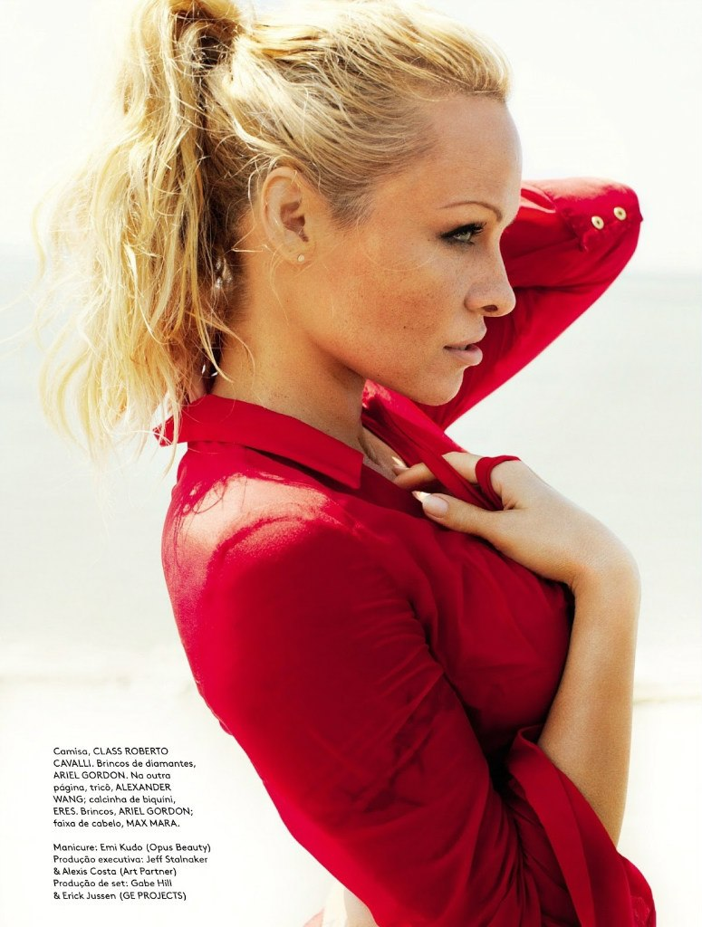 Pamela Anderson by Mario Testino for Vogue Brazil June 2013 8