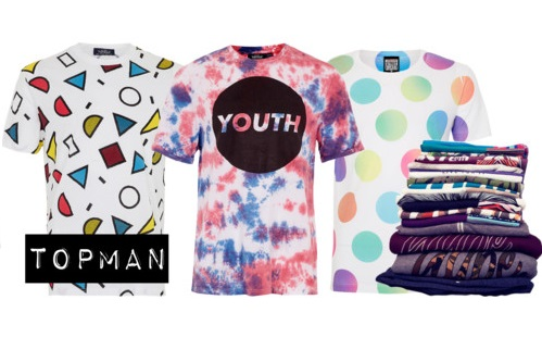 TOPMAN Men's summer 2013 printed tshirts