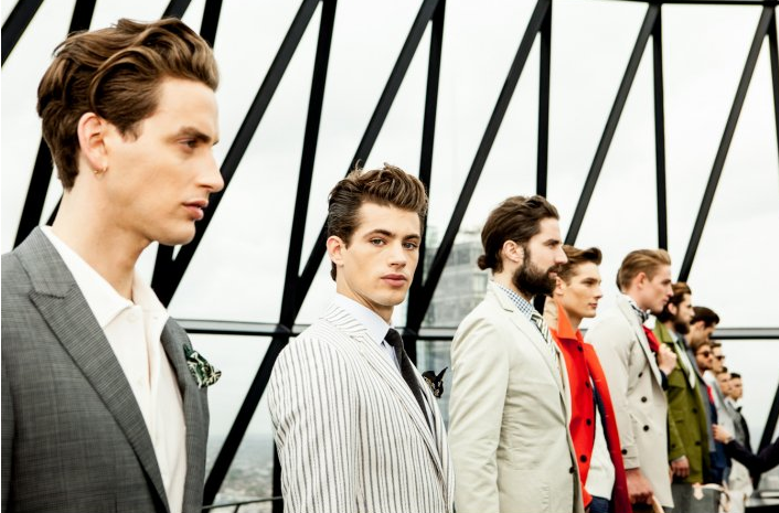 TONI&GUY London Collection Men SS14 Hardy Aimes