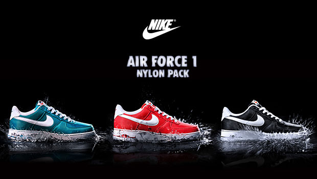 715130b71217 The Nike Air Force 1 is back with the exclusive Nylon Pack