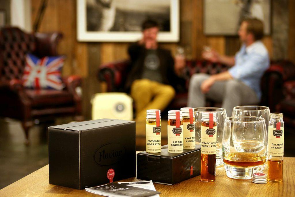 Flaviar Whisky tasting club.