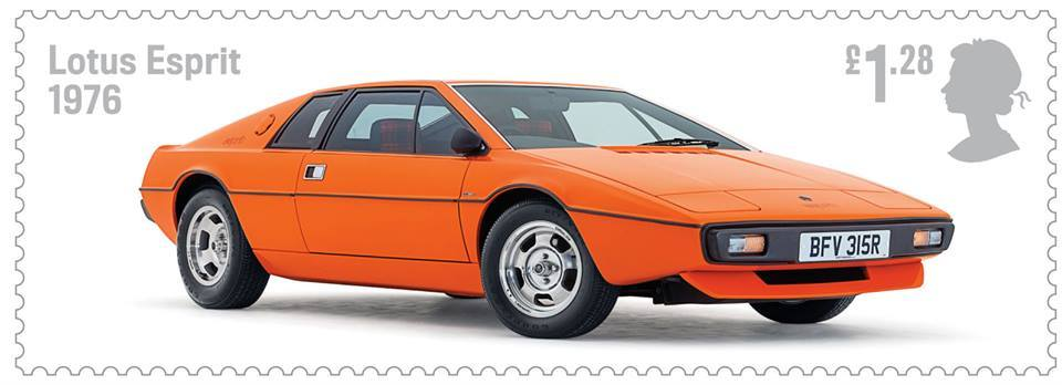 British Auto Legends Lotus stamp