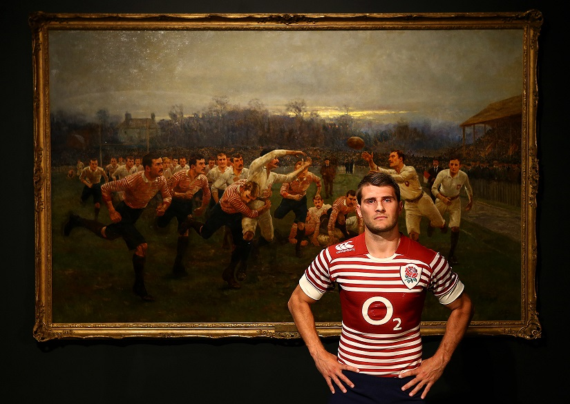 England Alternate Canterbury Kit