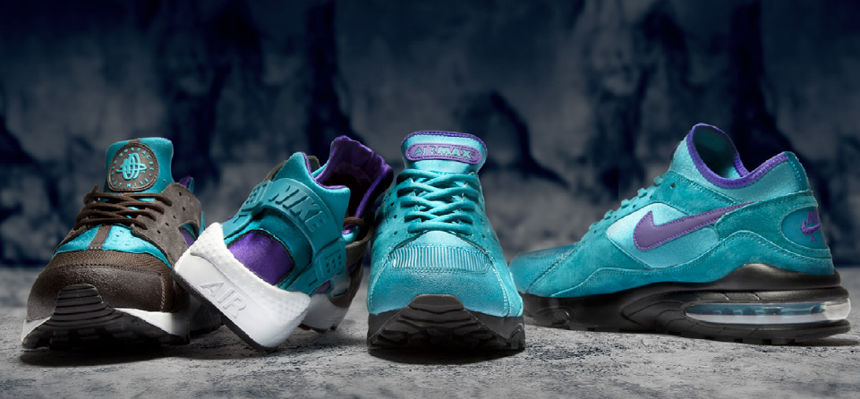 Enter the Air Max '93 and Air Huarache