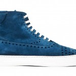 Most Wanted: Alexander McQueen Blue Suede Perforated Sneaks