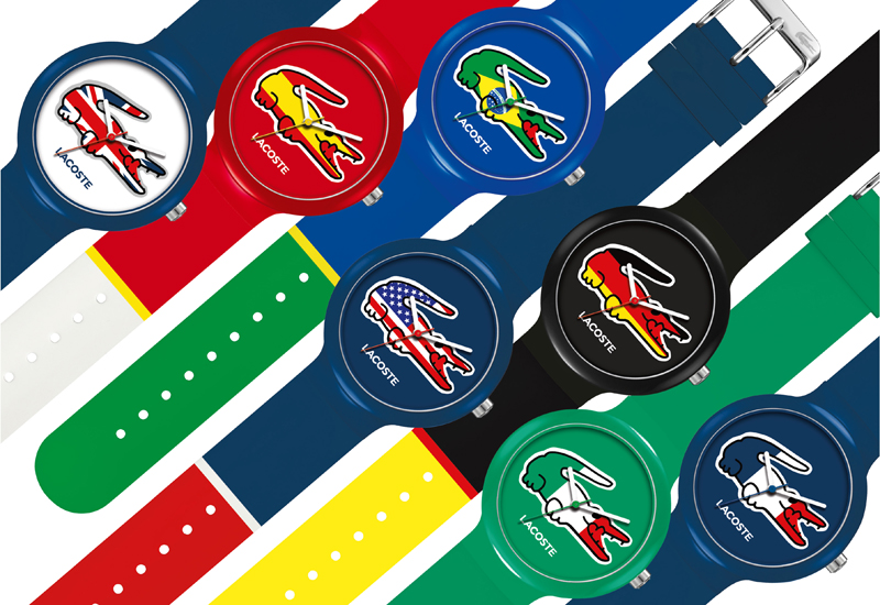 Lacoste world cup watches