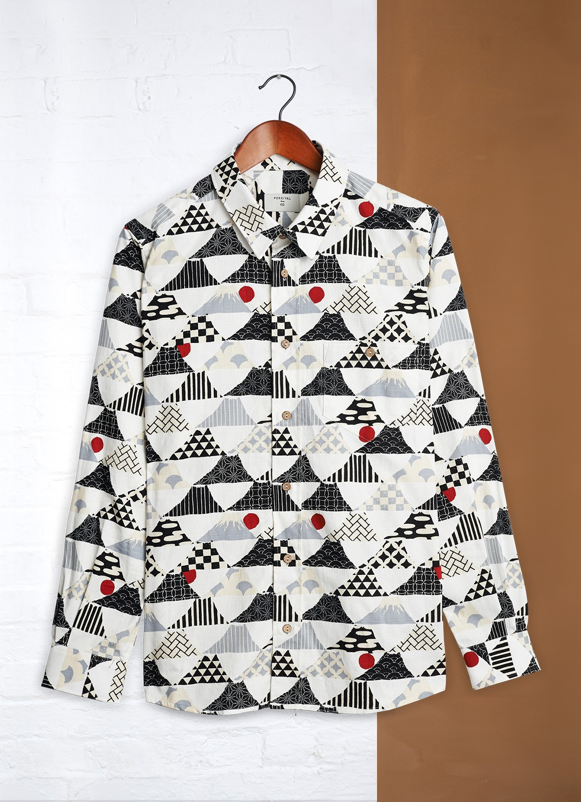 Percival Japanese Print Shirt