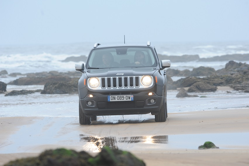 Jeep Renegade, review, 2015, offroad