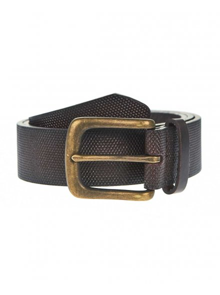 Brown All Over Textured Belt £12.99
