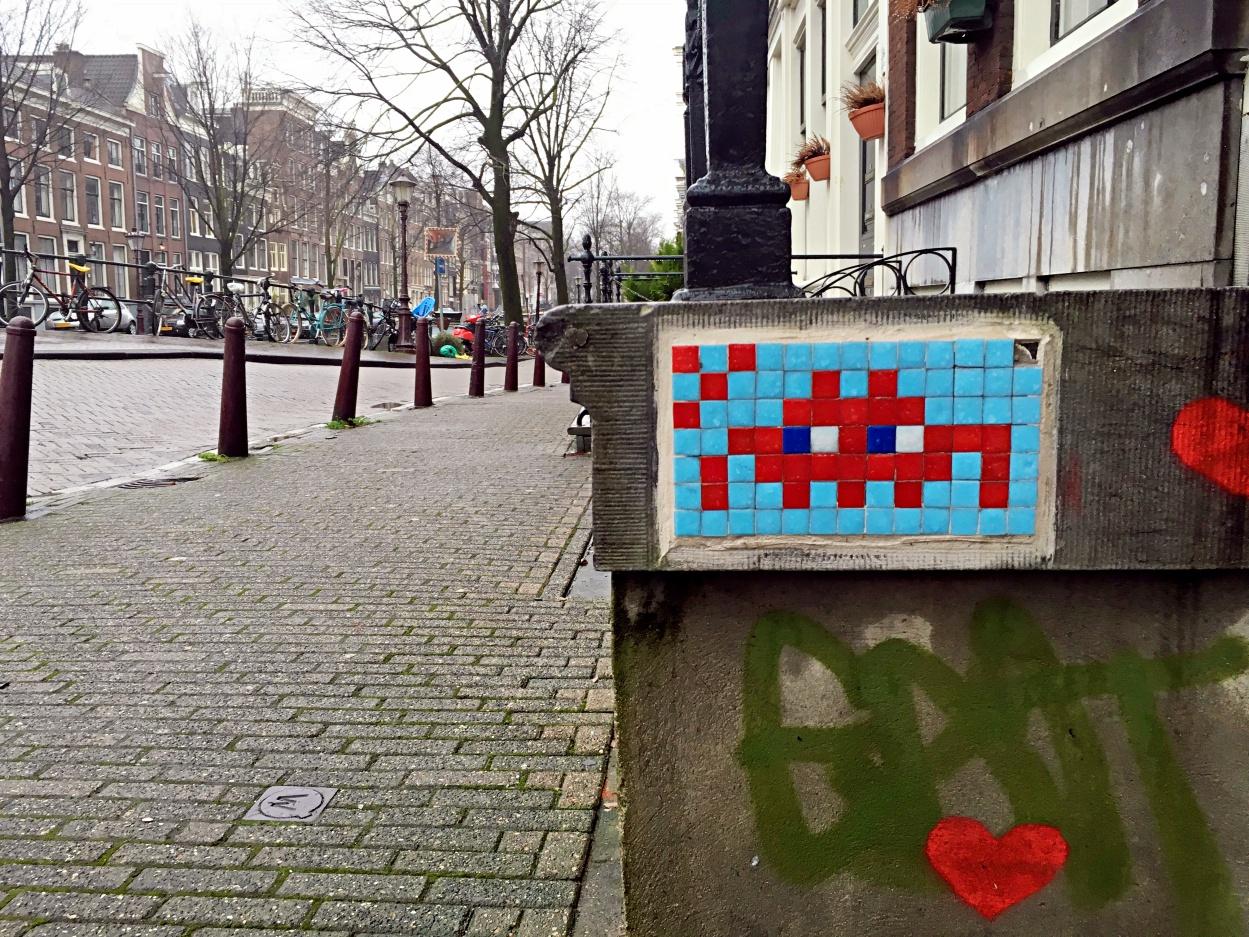 Invader Amsterdam