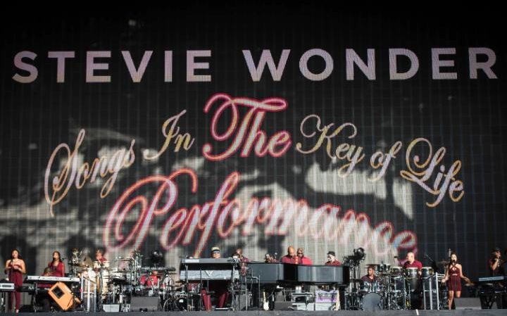 Stevie Wonder Hyde Park