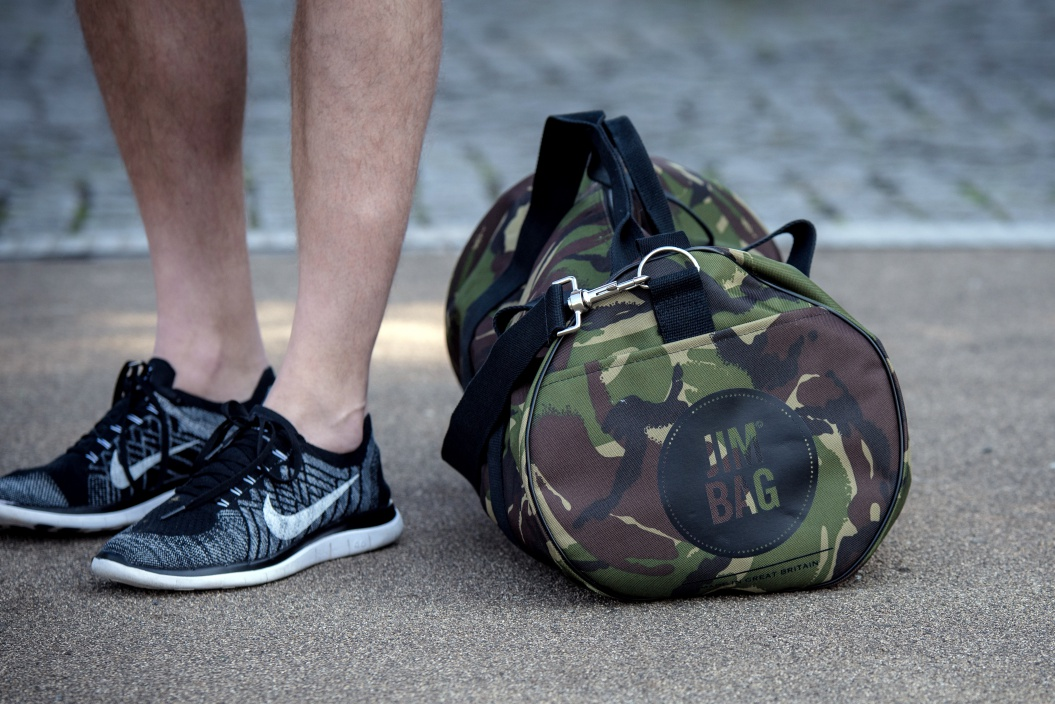 Camo Jim Bag Holdall