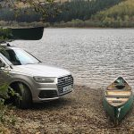 An #AudiWeekend exploring the Scottish Outdoors