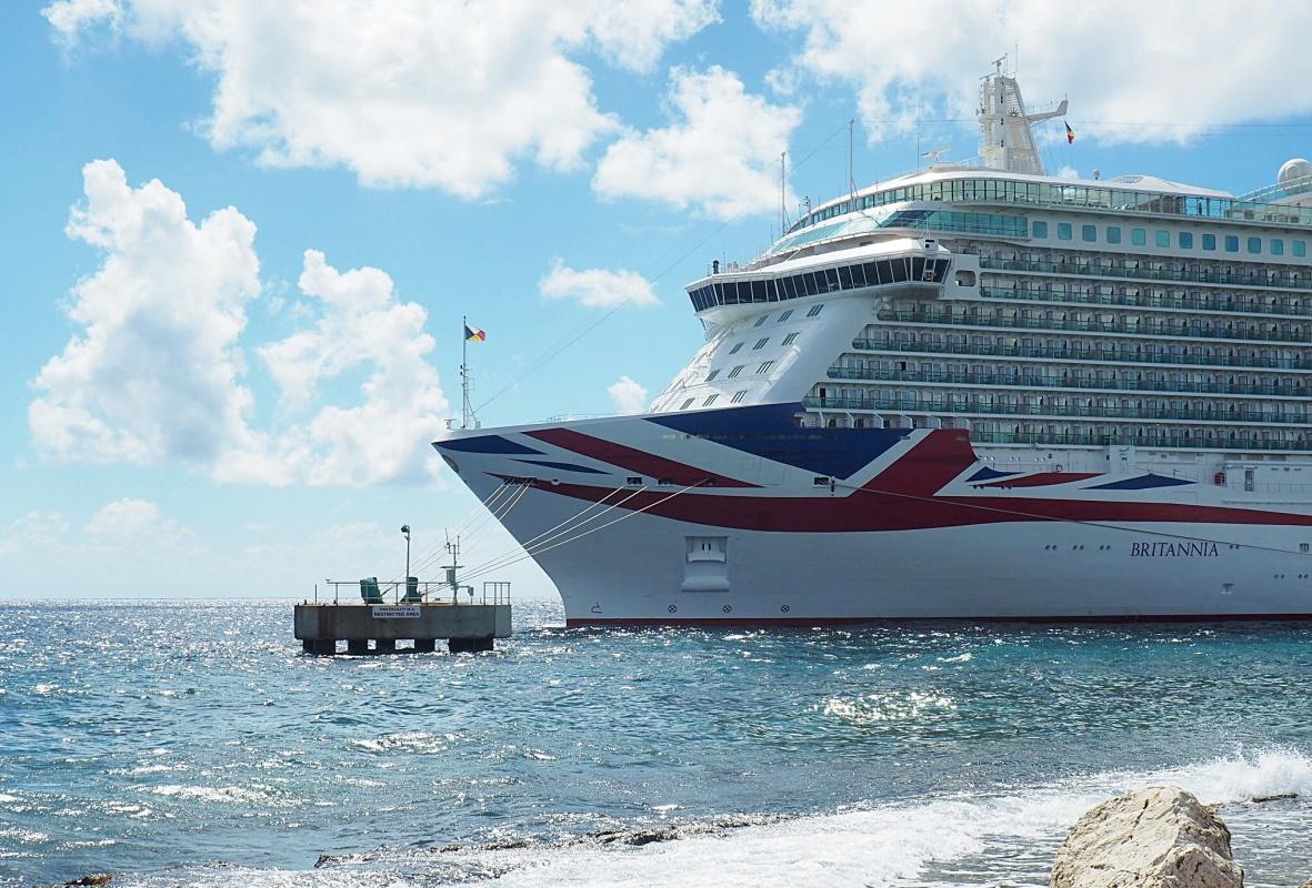 P&o, Britannia, Curacao, Caribbean