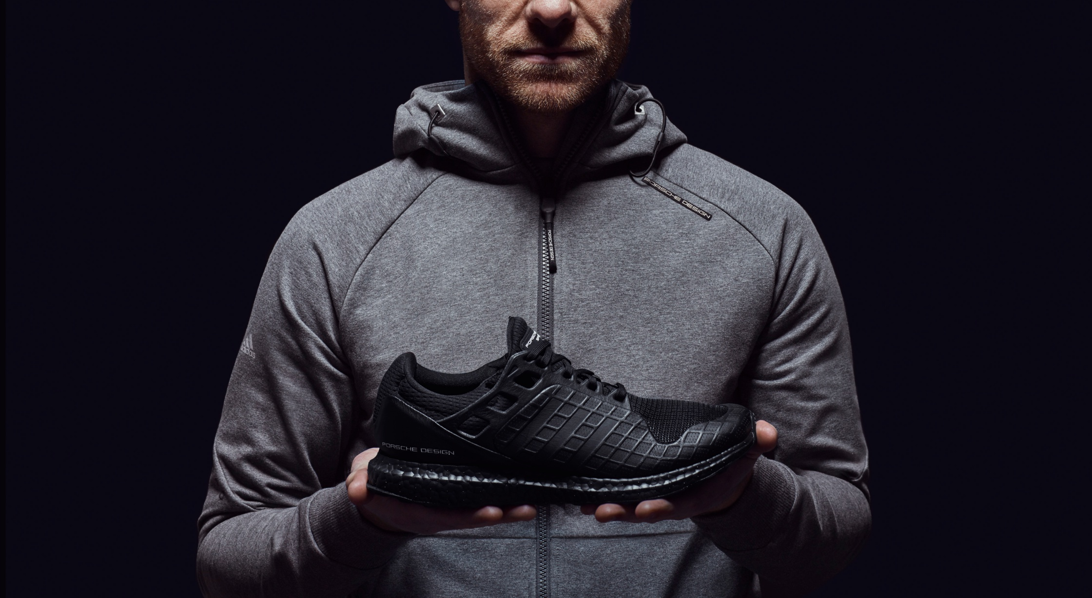 detailed look 72b5f 87e1e Adidas x Porsche Design Introduce the All Black Ultraboost ...
