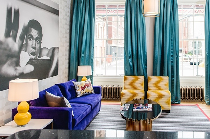 Rutland hotel, edinburgh, pop art, the everyday man