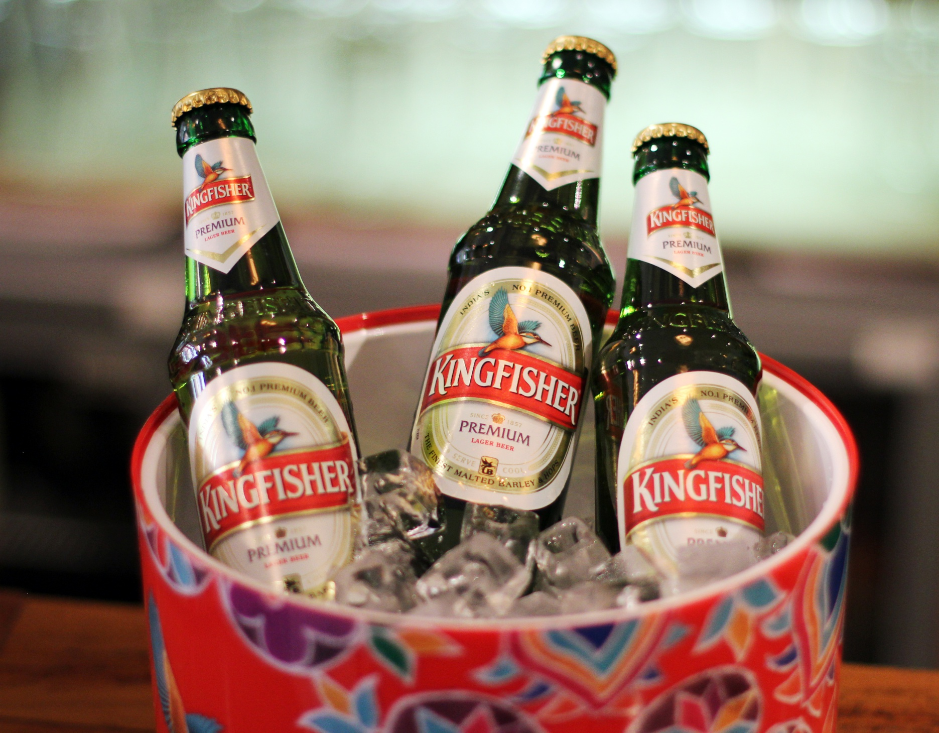 Indian beer, indian lager, kingfisher