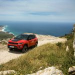 Road tripping from Lisbon to Sintra National Park in the new Jeep Compass