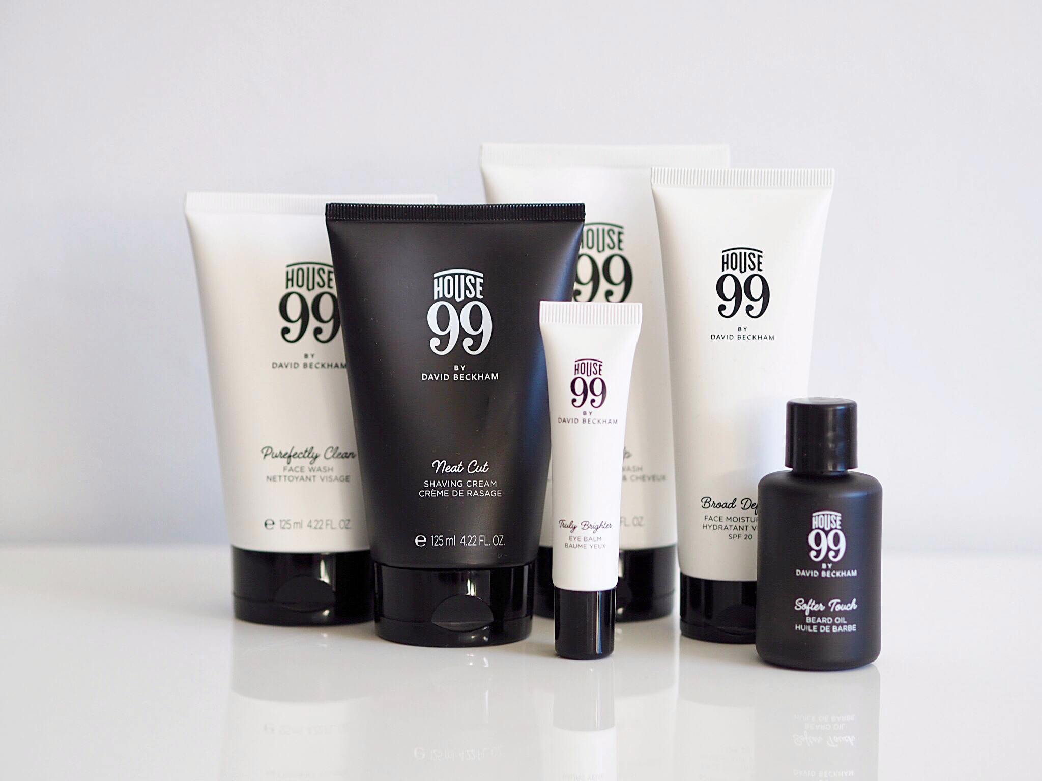 House 99 Skincare Grooming By David Beckham X Loreal