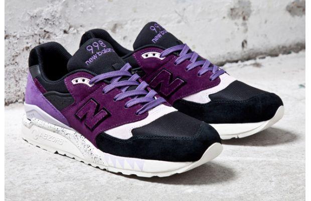New Balance 998 Sneaker freaker tassie devils purple release details