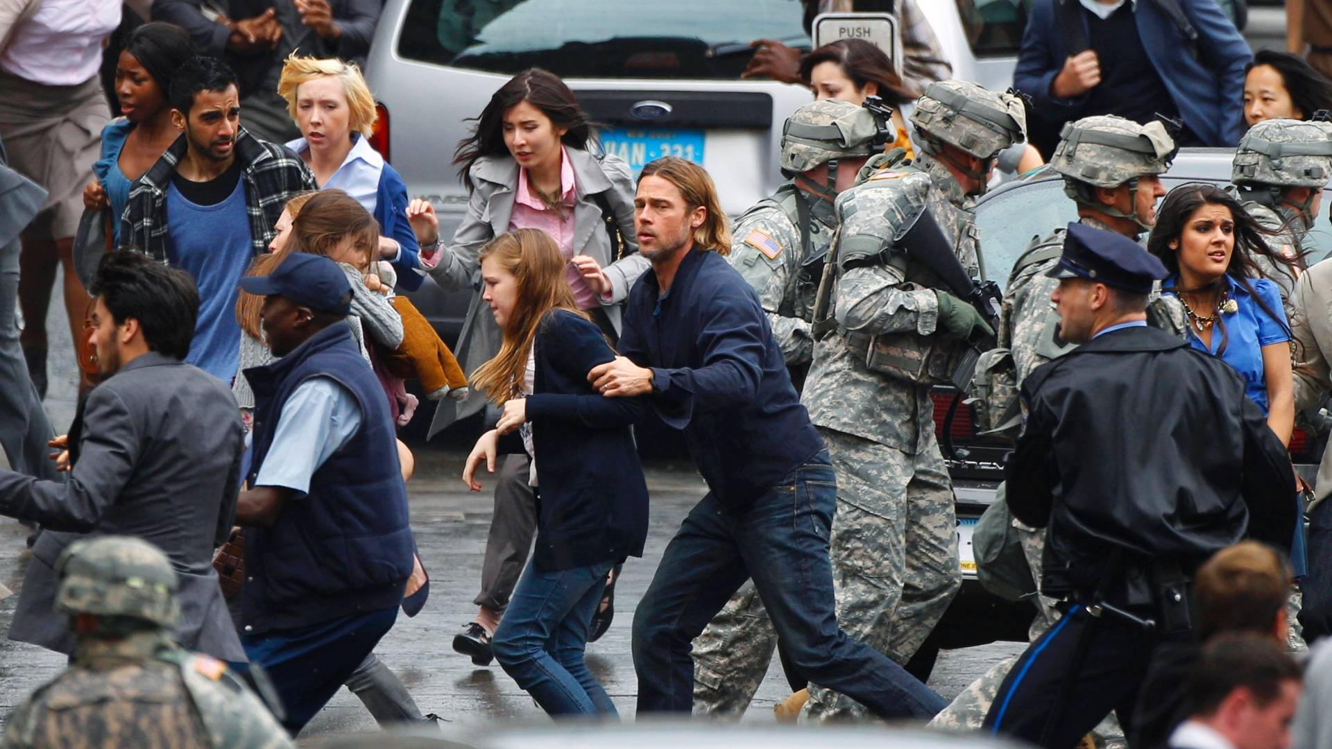 World War Z Brad Pitt Trailer