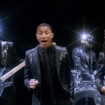 Pharrell Williams performs new Daft Punk single 'Get Lucky' live