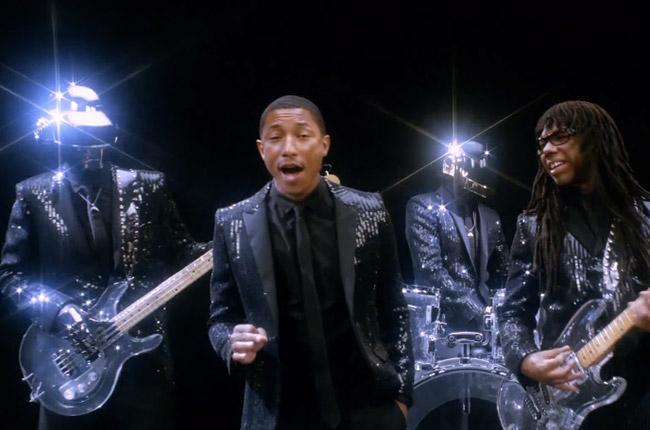Daft Punk, Get Lucky, Pharrell, Pharrell Williams, Random Access Memories