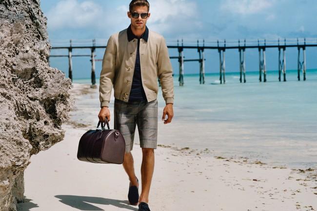 Louis Vuittin summer 2013 mens fashion beach swim