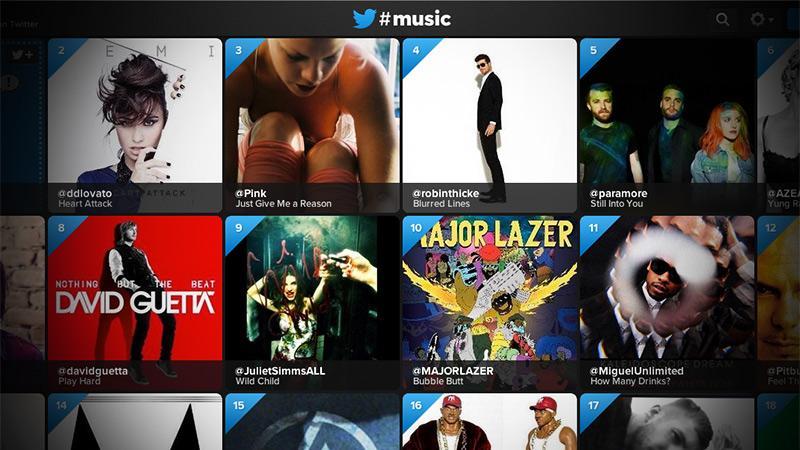 Twitter Music, #music, app, iphone,