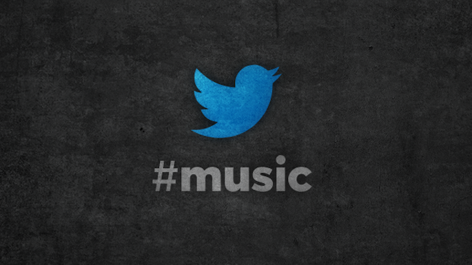 Twitter, #music, iphone app, spotify Rdio