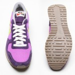 Nike Vintage Vortex trainers in purple and green