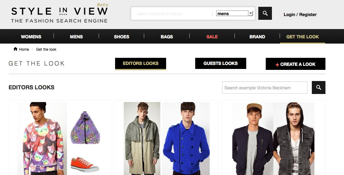 Style In View Mens Fashion Search Engine