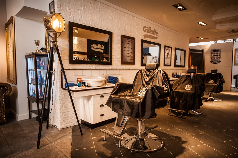 Gillette Opens Movember Pop Up Barbers The Everyday Man