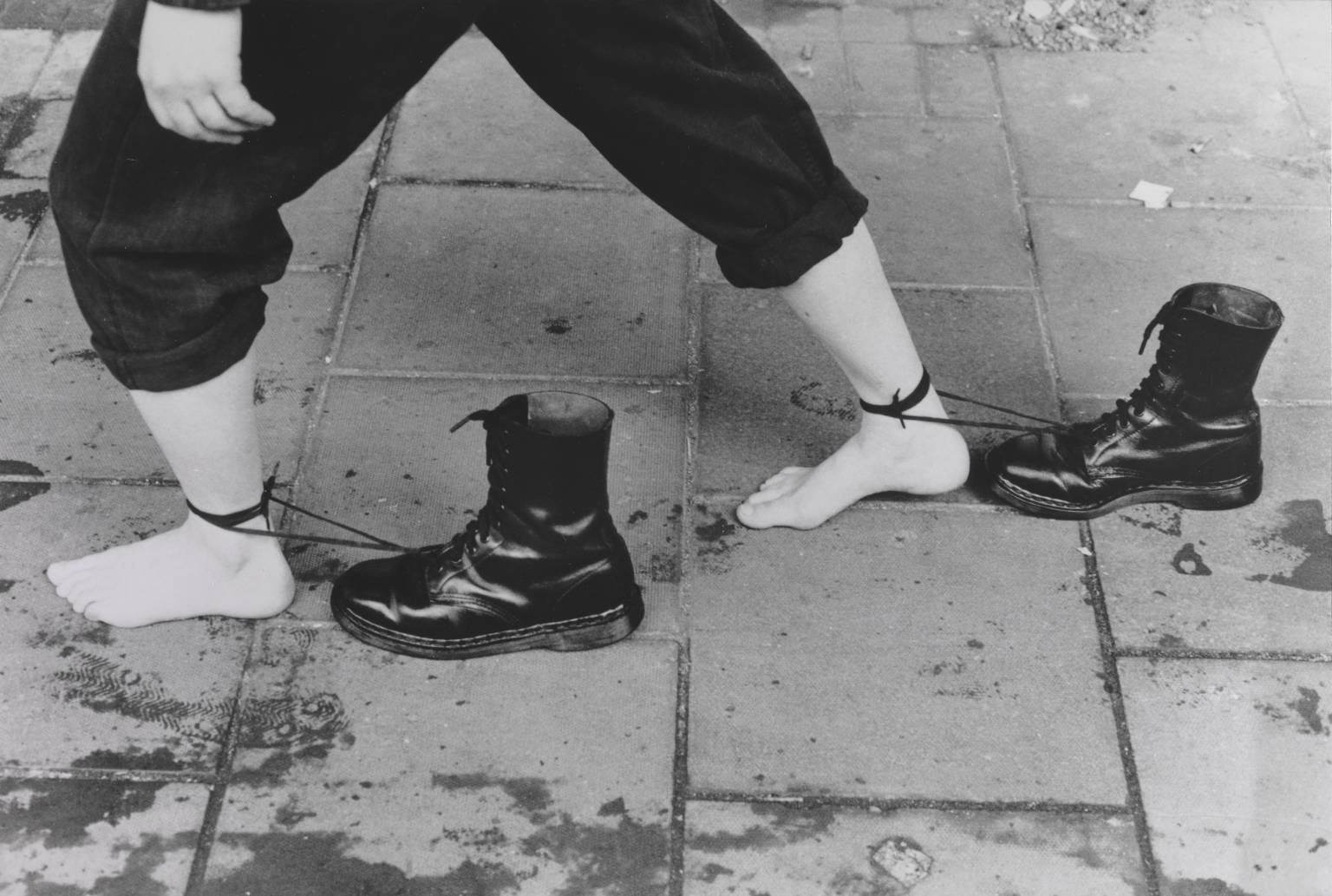 Performance Still 1985, printed 1995 by Mona Hatoum born 1952