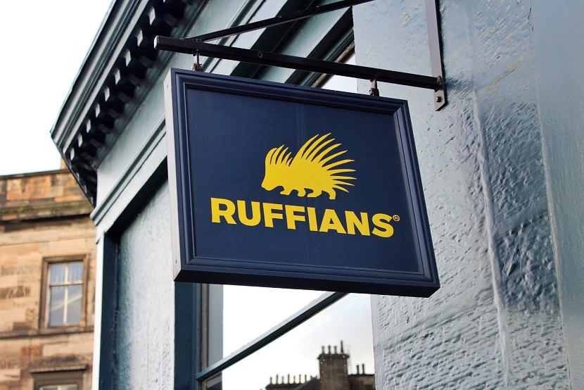 Ruffians, Barber shop, Edinburgh, Covent Garden