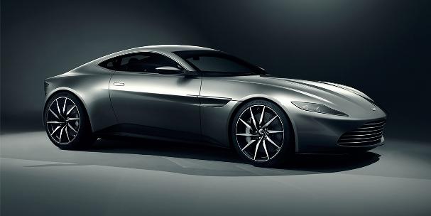 James Bond car, aston martin, 007, spectre