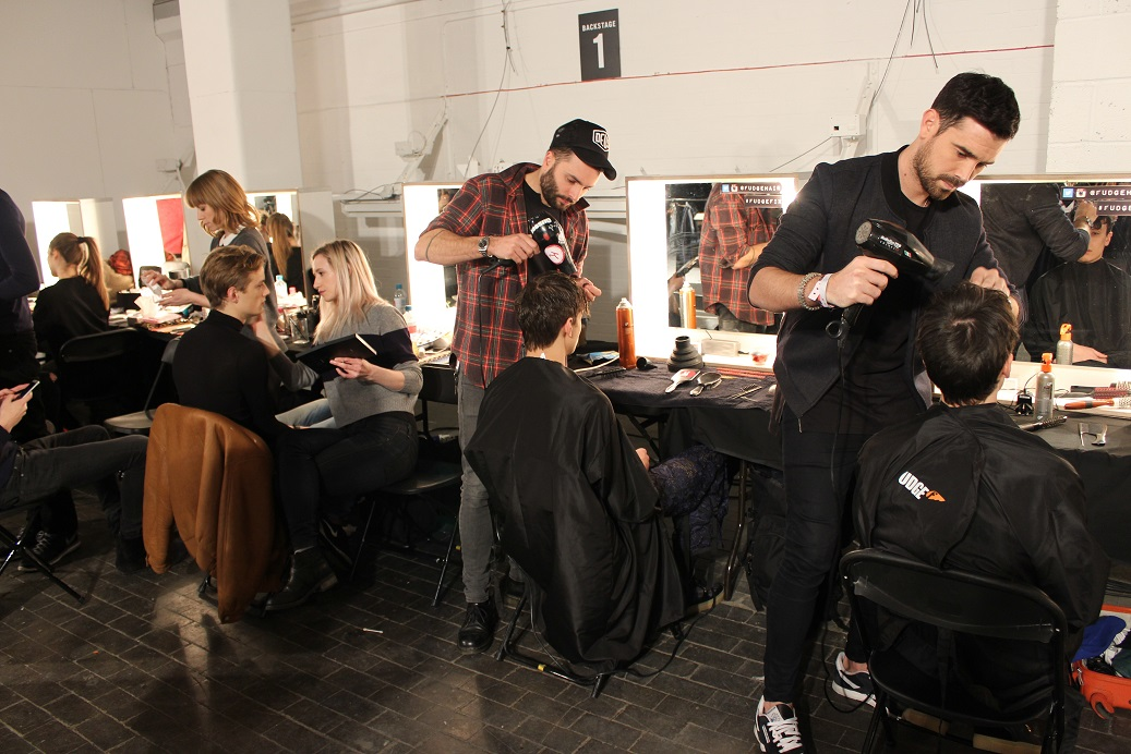 Fudge, Fashion week, LCM, James Long, London, Hair