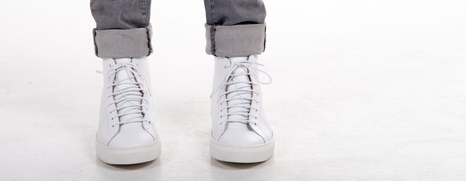 f02e4080c2bd4 The Frank Wright Logan Leather High Top Sneaker