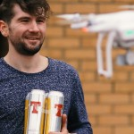 Fancy a pack of Lager delivered to your home by drone within 30 minutes?