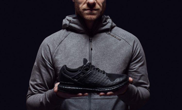 Adidas, ultraboost, all back, black, porsche design