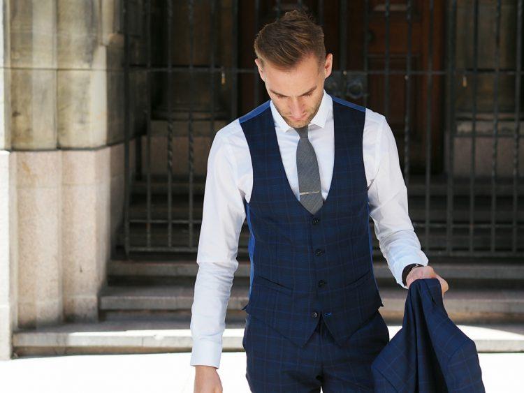 The Everyday man, Remus Uomo suit, lazio suit